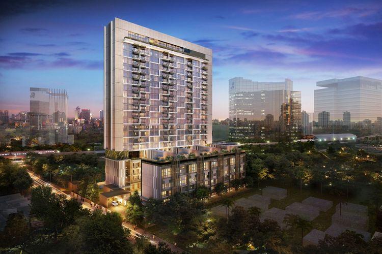Desain Arumaya Residences di Jakarta Selatan.