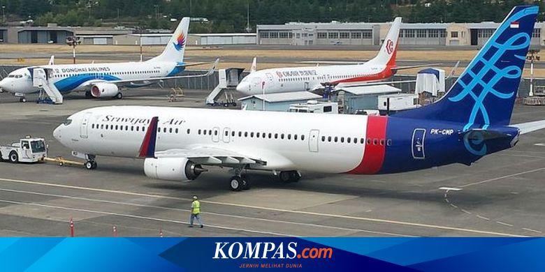 Sriwijaya Air Beri Diskon Tiket Pesawat 20 Persen Sampai Akhir Maret 2020 Halaman All Kompas Com