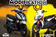Beli Yamaha Gear 125 Bisa Modifikasi Desain Sendiri