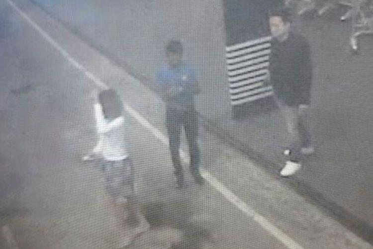 Foto yang dirilis Star TV menunjukkan seorang perempuan yang diduga terlibat pembunuhan Kim Jong Nam dalam rekaman CCTV di Bandara Kuala Lumpur International Airport di Sepang, Malaysia.