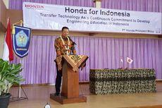 Honda Rangkul SMK, Siapkan Tenaga Kerja Siap Pakai