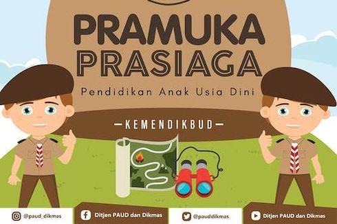 Hari Pramuka, Gerakan Prasiaga PAUD/TK akan Diresmikan Jokowi Hari Ini