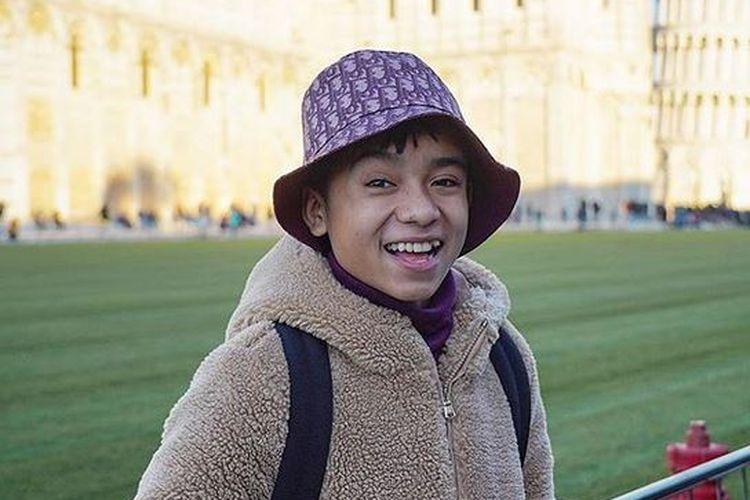 Penyanyi yang juga anak angkat Ruben Onsu-Sarwendah Tan, Betrand Peto Putra Onsu.