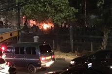 Pos Polisi di Palmerah Dirusak Massa Demo Penolakan RKUHP