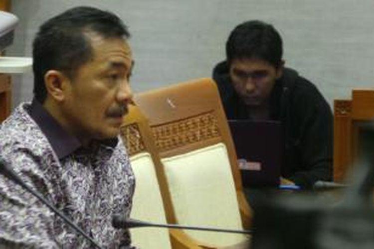 Anggota Komisi III DPR asal Fraksi Hanura Syarifudin Sudding