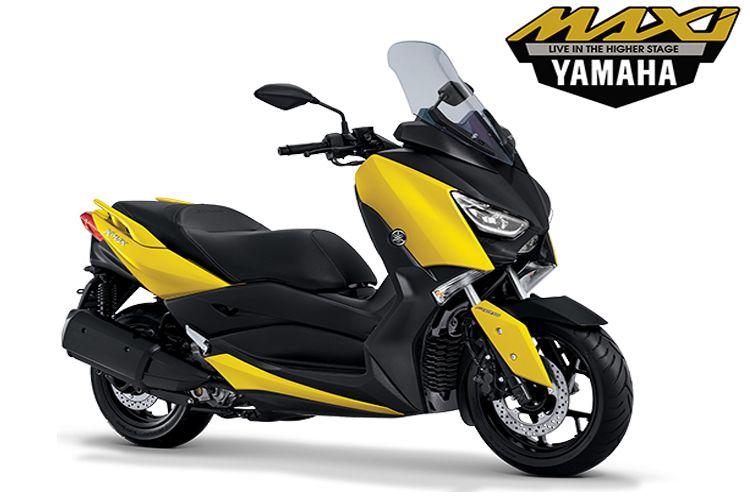 Yamaha Xmax Warna Kuning Hanya Ada Di Indonesia