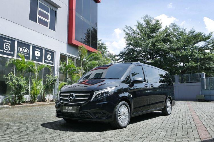 Mercedes Benz Vito garapan BAV Luxury Auto Design