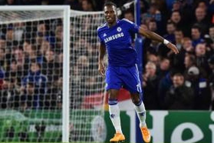 Striker Chelsea asal Pantai Gading, Didier Drogba.