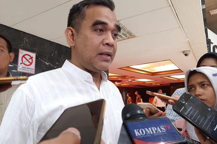 Ketua Fraksi Gerindra DPR Ahmad Muzani di DPR, Senayan, Jakarta, Jumat (31/1/2020).