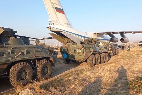 Jaga Nagorno-Karabakh, 400 Tentara Penjaga Perdamaian Rusia Tiba di Armenia