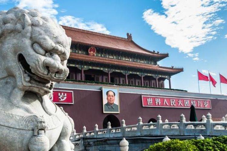 Kota Terlarang (Forbidden City) adalah tempat wisata paling terkenal China.