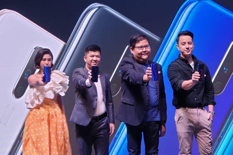 Peluncuran Oppo A9 2020 di Jakarta, Selasa (17/9/2019).