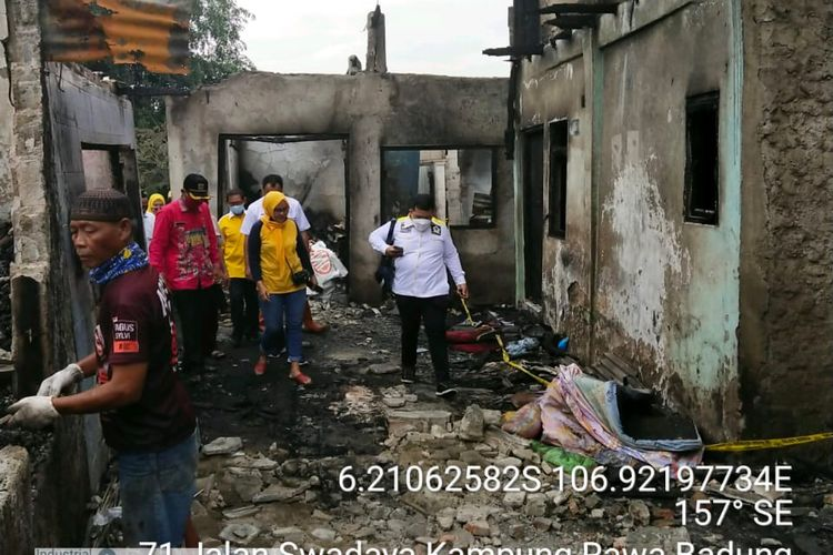 Sebanyak 75 jiwa korban kebakaran di Kelurahan Jatinegara, Kecamatan Cakung, Jakarta Timur, direncanakan untuk direlokasi.