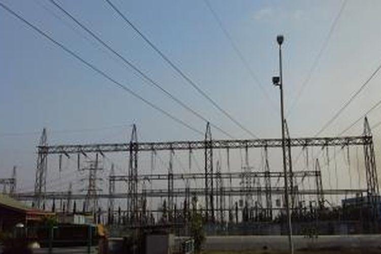 Ilustrasi pembangkit listrik