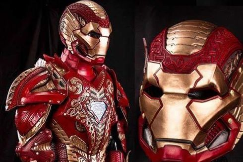 Robert Downey Jr Unggah Foto Amor Baru Iron Man dalam