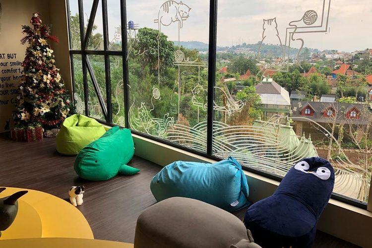Spot Instagramable di Neko Cat Cafe Lembang Park & Zoo