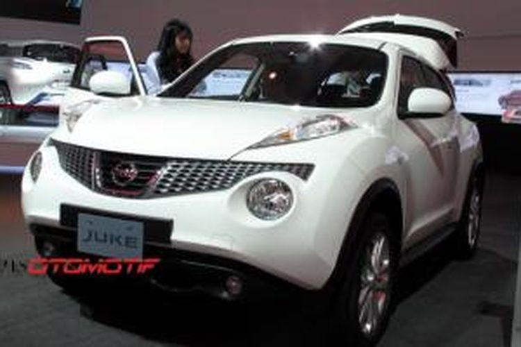 Nissan Juke menjadi andalan PT Nissan Motor Indonesia di pasar ekspor.
