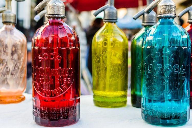 ilustrasi air soda