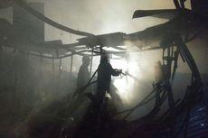 Mercon Diduga Bikin Api Kebakaran di Pasar Ujungberung Menggila