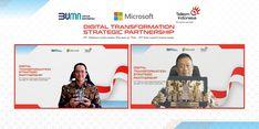 Gandeng Microsoft, Telkom Berkomitmen Wujudkan Kedaulatan Digital Indonesia
