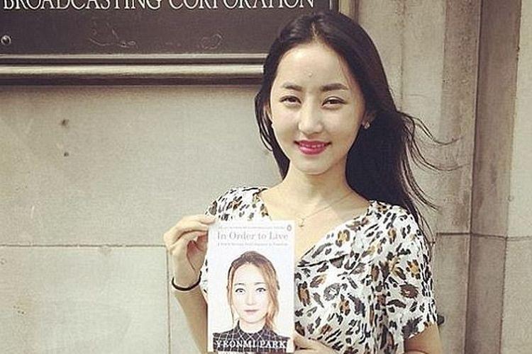 Yeonmi Park gadis pembelot Korea Utara, kini menjadi aktivis HAM dan penulis buku In Order to Live, A North Korean Girls Journey to Freedom.