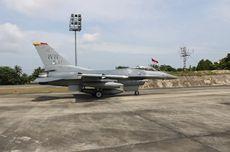 Latihan Bersama di Pekanbaru, TNI dan AU AS Kerahkan 6 Pesawat Tempur F-16