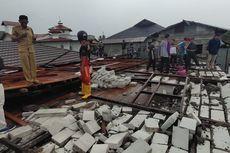 Angin Kencang Robohkan Bangunan Pesantren, 3 Orang Terluka