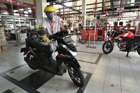 Penjualan Suku Cadang Motor Terimbas Larangan Mudik
