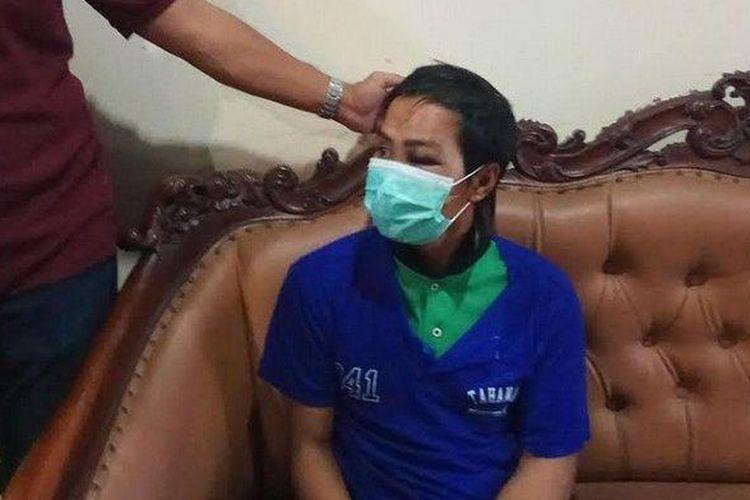 Susanto (32), pelaku pemerkosaan terhadap dua wanita ditangkap jajaran kepolisian dari Polrestabes Semarang.