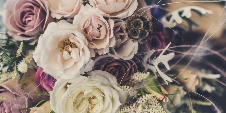 Trik Membuat Buket Bunga Lebih Tahan Lama