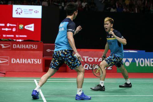 Marcus/Kevin Gagal ke Final Singapore Open 2019