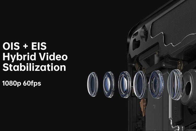 Kamera OPPO Reno2 dengan Hybrid Video Stabilization (OIS+EIS)