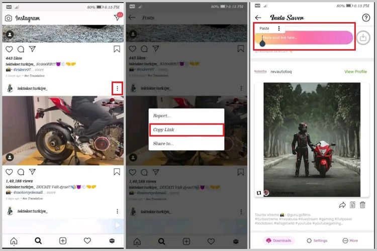Cara mengunduh foto dan video Instagram lewat aplikasi Video Downloader for Instagram