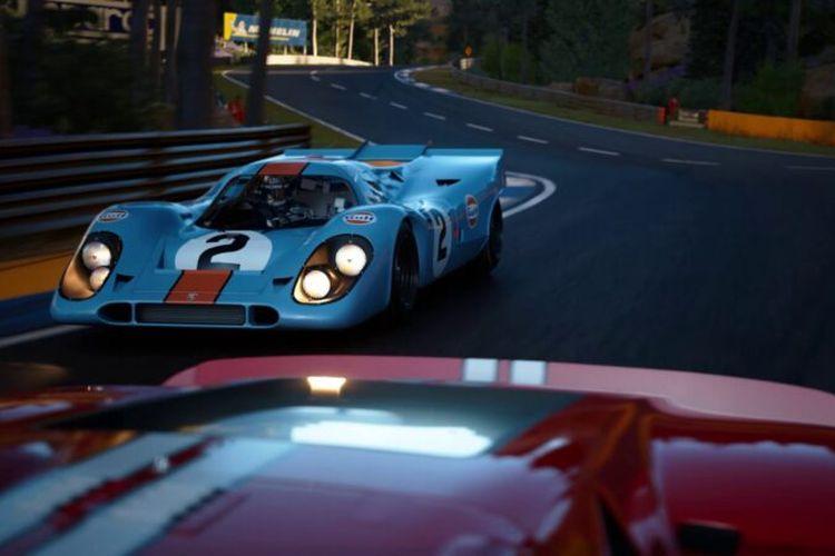 Tampilan game balap Gran Turismo 7