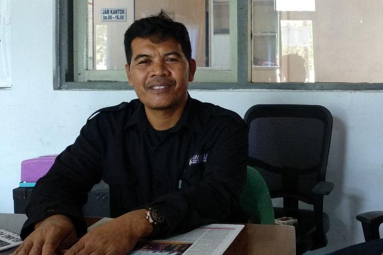 Ketua Bawaslu Kabupaten Pamekasan, Abdullah Saidi menegaskan bahwa Maruf Amin tidak berkampanye saat di Pamekasan pada hari Senin kemarin