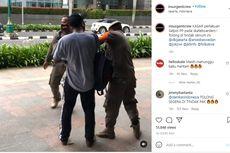 Ditertibkan Saat Main Skateboard di Trotoar Bundaran HI, Pria Ini Mengaku Ditendang Satpol PP