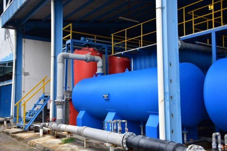 Sistem Penyediaan Air Minum (SPAM) Sea Water Reverse Osmosis (SWRO) di Kota Tanjungpinang, Provinsi Kepulauan Riau (Kepri).