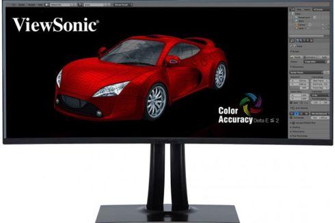 Monitor Layar Lengkung ViewSonic Dijual Rp 22 Juta di Indonesia