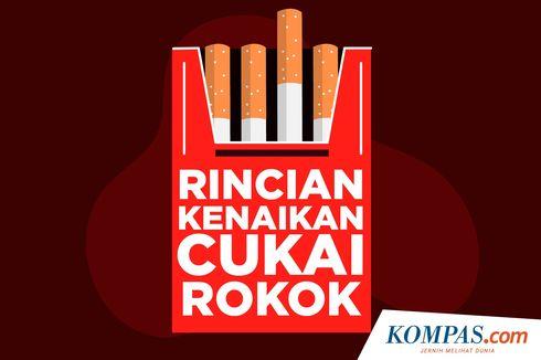 Efek Kenaikan Tarif Cukai, Pabrik Rokok Golongan 1 Turun Kelas