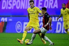 AC Milan Vs Verona, Rossoneri Tertinggal pada Babak Pertama