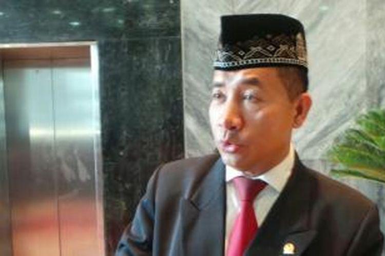Politisi PDI Perjuangan, Imam Suroso.