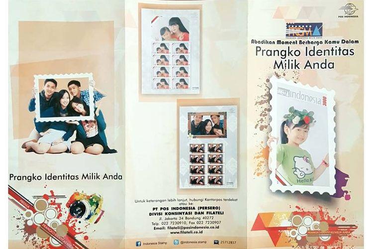 Prangko Identitas Milik Anda milik PT Pos Indonesia