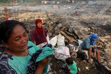 Korban Kebakaran Kelapa Gadung Tolak Pindah Lokasi Pengungsian