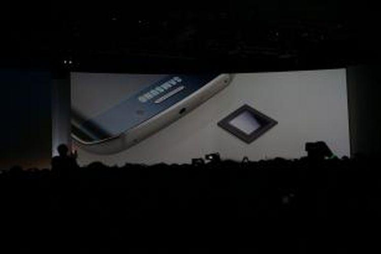 Samsung memperkenalkan prosesor Exynos 7420 pada Samsung Unpacked 2015 di Barcelona, Spanyol.