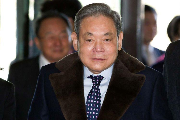 Salah satu bos besar Samsung, Lee Kun-Hee