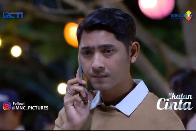 Sinetron Ikatan Cinta episode 8 April menggambarkan kebingungan Aldebaran antara hubungan Ricky dan Elsa, dan juga ayah asli Reyna.