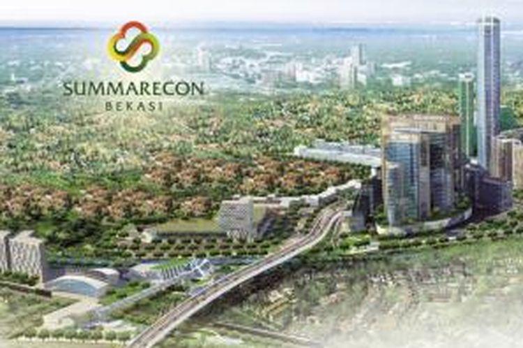Pasar apartemen Bekasi dinilai potensial. Sejumlah pengembang berkompetisi membangun hunian jangkung dalam beberapa tower pengembangan. Termasuk di antaranya Summarecon Agung.