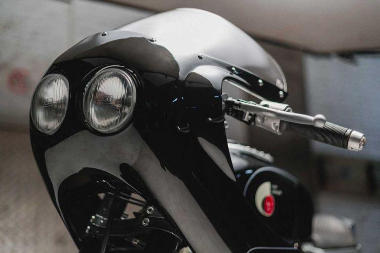 Honda CB650 bergaya cafe racer garapan Thrive Motorcycles