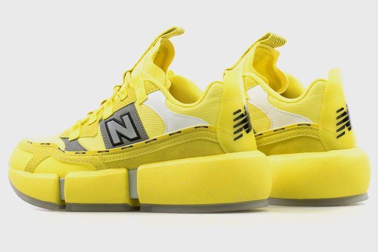 New Balance x Jaden Smith Vision Racer Hi-Vis Yellow