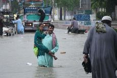 Hujan Lebat 3 Hari, Hampir 50 Orang di Pakistan Tewas